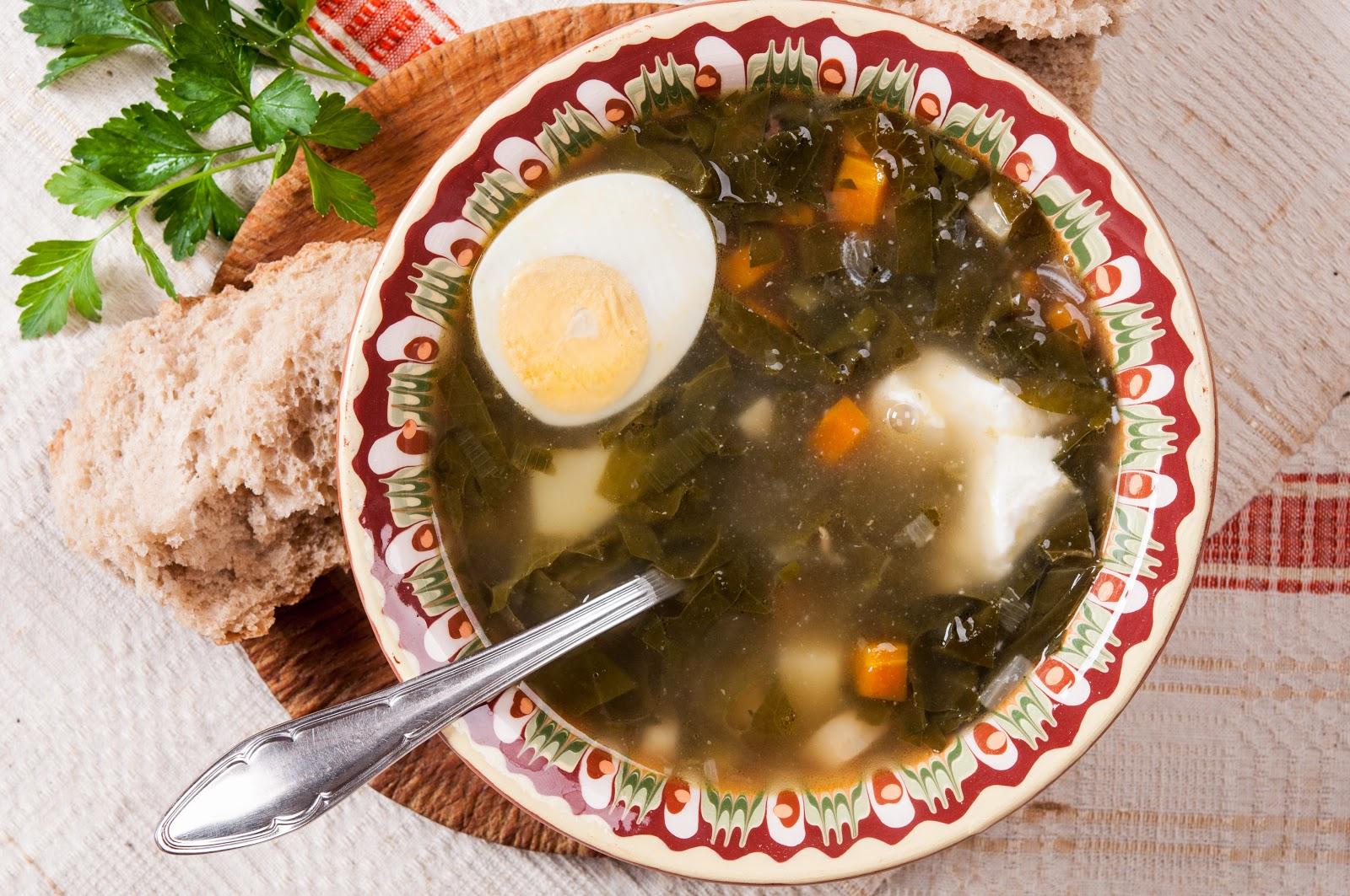 Агнешка супа с лапад