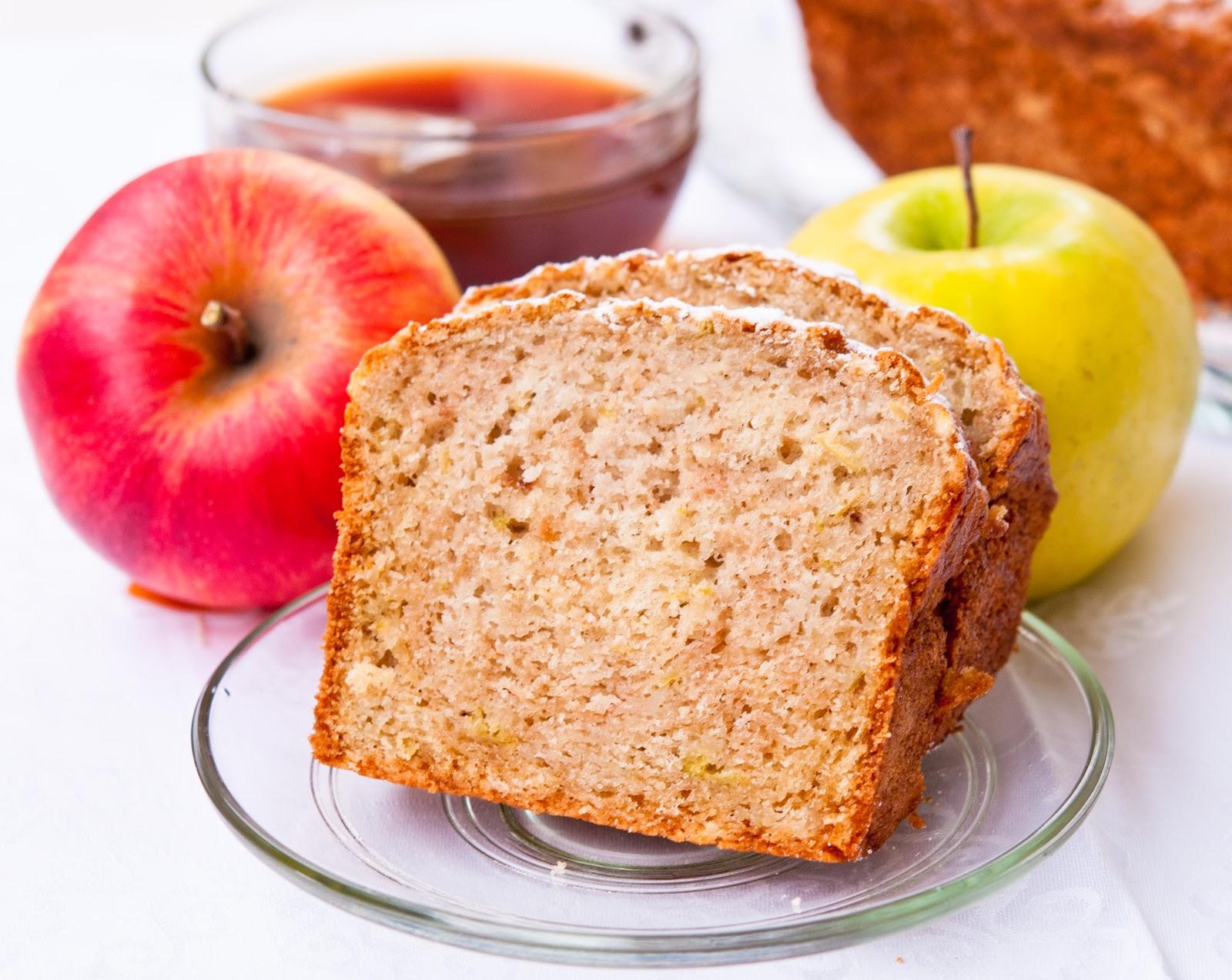 Кекс с ябълки