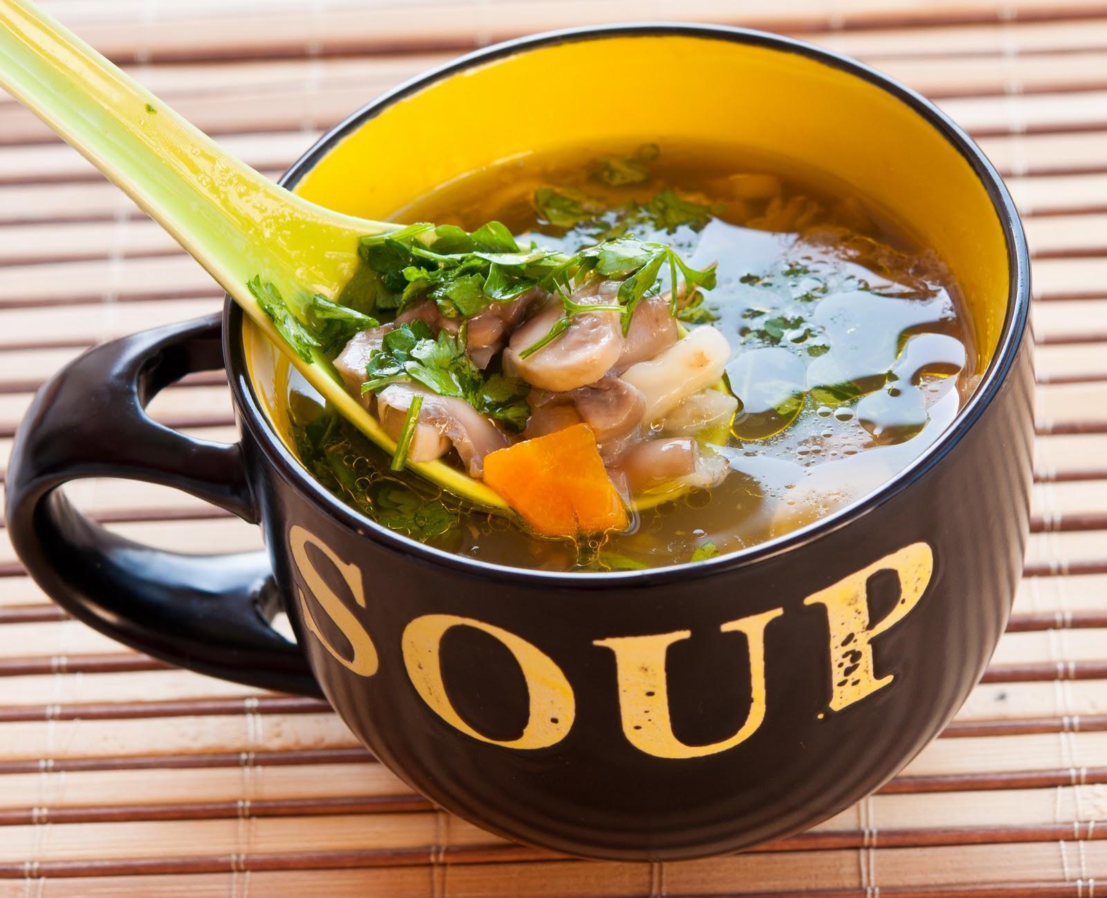 Резултат с изображение за гъбена супа